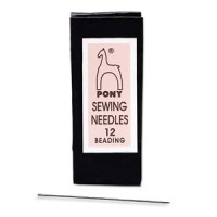 #12 Pony Beading Needles Bulk