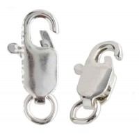 13.8x5.2mm Sterling Lobster Clasp