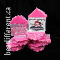 Lychee Black Raspberry Piped Top Soap