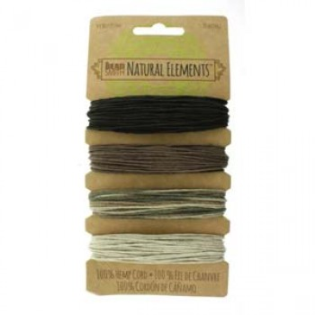 20# Hemp 4 Color Card Set Neutrals