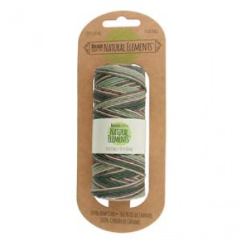 20# Hemp Spool Variegated Camouflage Green/Tan