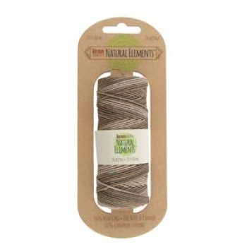 20# Hemp Variegated Earthy Browns and Tans